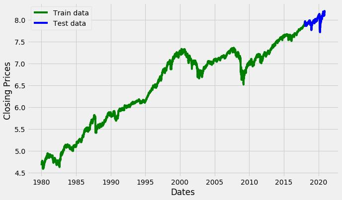 Test trading matematico indice s&p 500